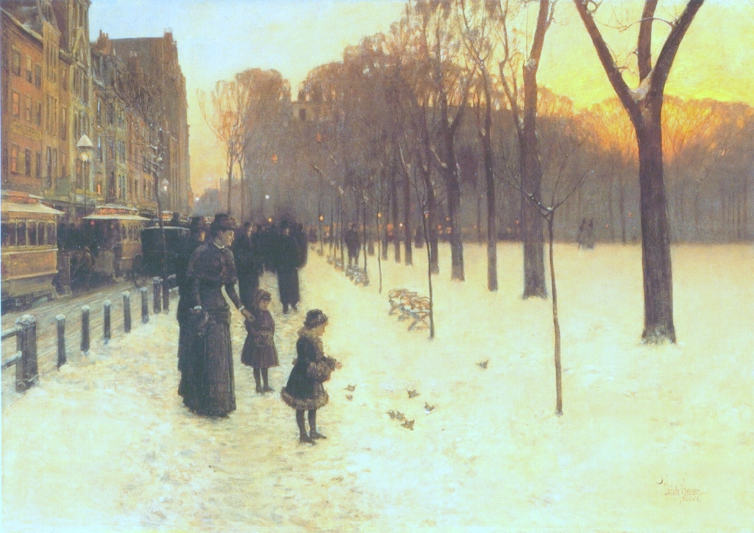 Boston Common at Twilight (also known as At Dusk), 1885-86